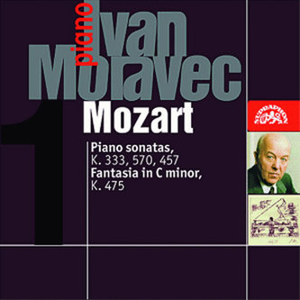 Klavírní sonáty K. 333, 457, 570, Fantazie K. 475 - CD