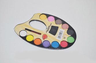 Vodové barvy paleta 12 barev - neuveden