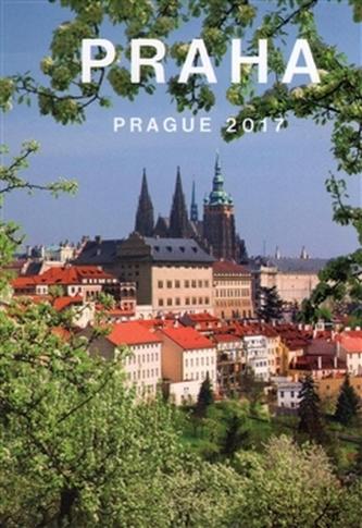 Kalendář Prague - Praha 2017 malý