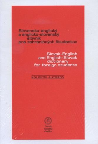 Slovensko-anglický a anglicko-slovenský slovník pre zahraničných študentov