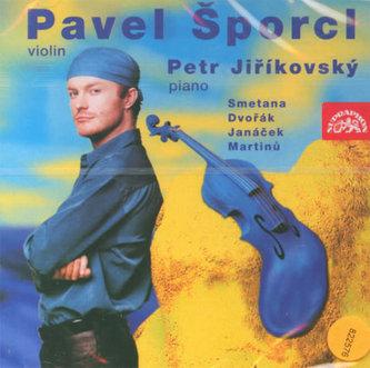 Smetana, Dvořák, Janáček, Martinů, Ševčík: Houslový recitál - CD - Šporcl Pavel