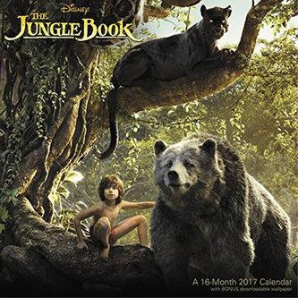 Kalendář 2017 - JUNGLE BOOK