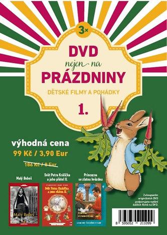 DVD nejen na Prázdniny 1. - Dětské filmy a pohádky - 3 DVD - neuveden