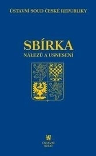 Sbírka nálezů a usnesení ÚS ČR, svazek 75 (vč. CD)