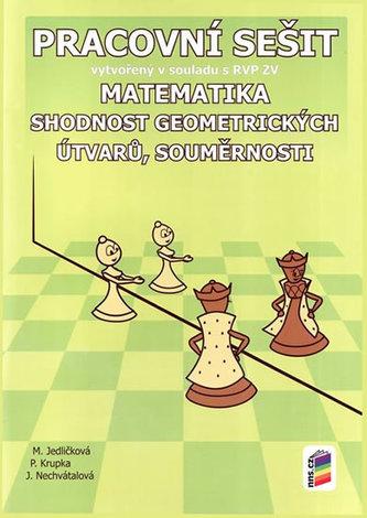 Matematika - Shodnost geometrických útvarů, souměrnosti (PS)