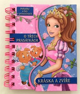 O třech prasátkách / Kráska a zvíře - Pohádky a hry o princeznách