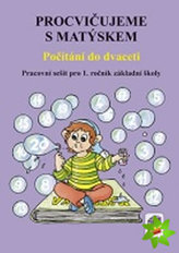Procvičujeme s Matýskem - Počítání do dvaceti (pracovní sešit ke 3. dílu učebnice)
