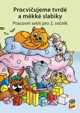 Procvičujeme tvrdé a měkké slabiky - Český jazyk pro 2. ročník ZŠ - duhová řada