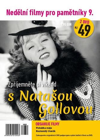 Nedělní filmy pro pamětníky 9. - Nataša Gollová - 2 DVD pošetka - neuveden
