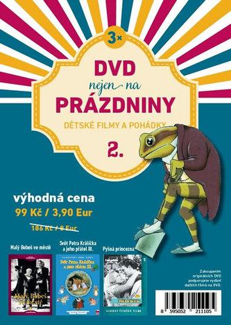 DVD nejen na Prázdniny 2. - Dětské filmy a pohádky - 3 DVD - neuveden