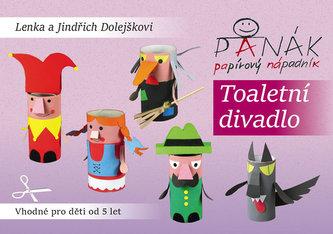 Toaletní divadlo - Panák papírový nápadník - Dolejškovi Lenka a Jindřich