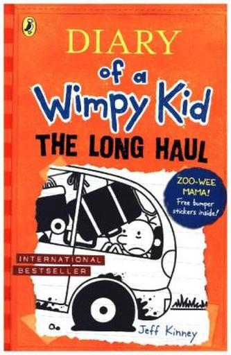 Diary of a Wimpy Kid 9 - The Long Haul - Kinney Jeff