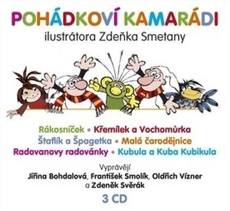 Pohádkoví kamarádi - 3 CD