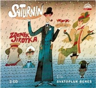 Saturnin - 2 CD - Zdeněk Jirotka