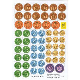 Karta mincí - neuveden