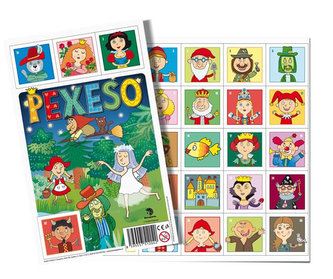 Pexeso 32 Pohádkové postavičky