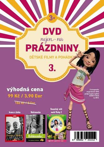 DVD nejen na Prázdniny 3. - Dětské filmy a pohádky - 3 DVD - neuveden