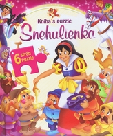 Snehulienka - kniha s puzzle