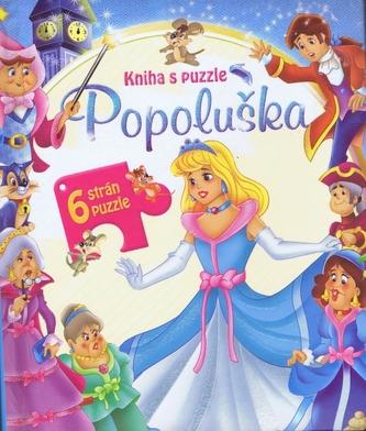 Popoluška - kniha s puzzle