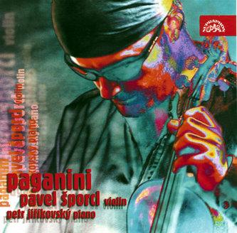 Paganini - Caprice, Sonáta e moll, Le Streghe, Moto perpetuo...- CD
