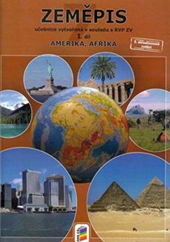 Zeměpis 7, 1. díl - Amerika, Afrika (učebnice)