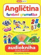 Audiokniha- Angličtina- farebná gramatika