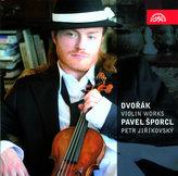 Dvořák: Romantické kusy, Capriccio, Romance, Sonatina, Mazurek a Balada pro housle a klavír - CD