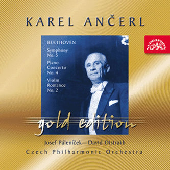 Gold Edition 25 Beethoven: Symfonie č.5, Koncert pro klavír a orch.č.4, Romance pro housle a orch.č.2 - CD - Beethoven Ludwig van