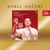Gold Edition 26 Bartók: Koncert pro orchestr, Sz 116, Koncert pro violu a orchestr Sz 120 - CD