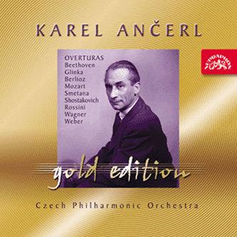 Gold Edition 29 Předehry (Mozart, Beethoven, Wagner, Smetana, Glinka, Berlioz, Rossini, Šostakovič, Weber) - CD