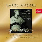 Gold Edition 42 Liszt: Preludia; Bárta: Koncert pro violu; Šostakovič: Koncert pro violoncello - CD