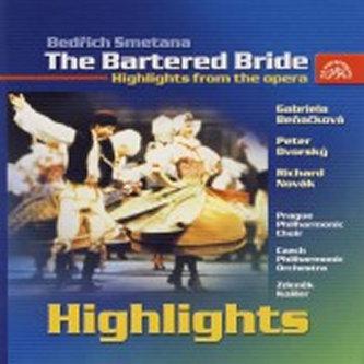 Prodaná nevěsta - highlight - CD