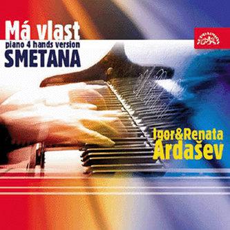 Má vlast - klavírní verze - CD