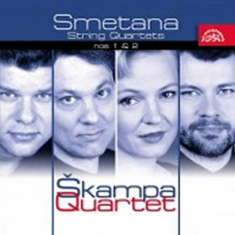 Smyčcové kvartety č. 1, 2 - CD - Smetana Bedřich