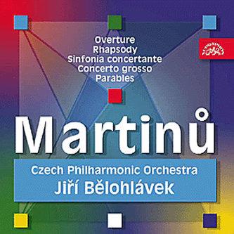 Předehra pro orchestr, Rapsodie pro velký orchestr, Sinfonia Concertante.. - CD