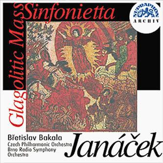 Janáček : Glagolská mše, Sinfonietta - CD