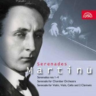 Serenády - CD - Bohuslav Martinů