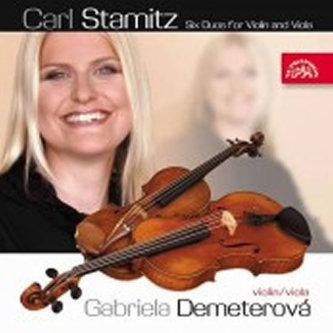 Šest duet pro housle a violu - CD