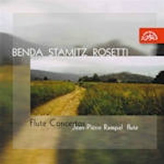 Benda, Stamitz: Koncerty pro flétnu a orchestr - CD