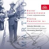 Koncertantní suita pro housle a orchestr, Koncert pro housle a orchestr č. 1 - CD
