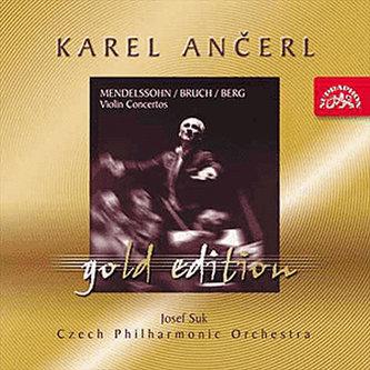 Gold Edition 3 Mendelssohn-Bartholdy/Bruch/Berg: Koncerty pro housle a orchestr - CD