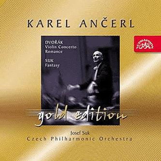 Gold Edition 8 Dvořák: Koncert a Romance pro housle a orchestr - Suk : Fantazie pro housle a orchestr - CD