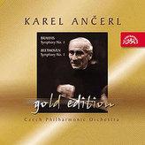 Gold Edition 9 Brahms: Symfonie č. 1 c moll / Beethoven :Symfonie č. 1 C dur - CD
