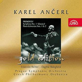 Gold Edition 10 Prokofjev: Symfonie č. 1 D dur, Koncerty pro klavír a orchestr č. 1 a 2 - CD