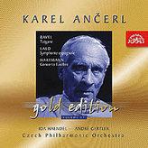 Gold Edition 17 Ravel :Tzigane/Lalo:Španělská symfonie/Hartmann: Smuteční koncert- CD
