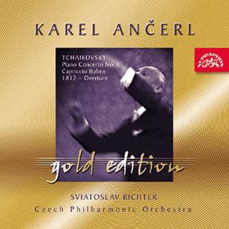 Gold Edition 20 Čajkovskij: Koncert pro klavír a orch. b moll, Italské capriccio, Slavnostní předehra- CD