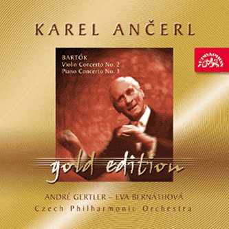 Gold Edition 22 Bartók: Koncerty pro housle a orchestr - CD