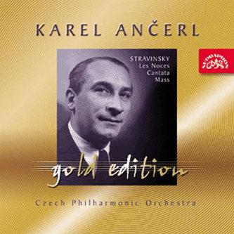 Gold Edition 32 Stravinskij: Svatba (Les Noces), Kantáta, Mše - CD
