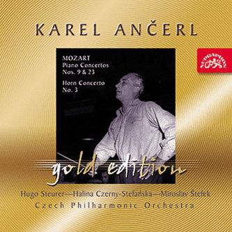 Gold Edition 38 Mozart: Koncerty pro klavír K. 488, K. 271, lesní roh K. 447 - CD - Mozart Wolfgang Amadeus