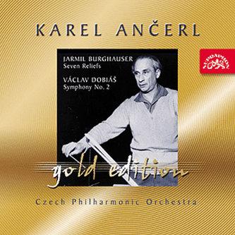 Gold Edition 40 Burghauser: Sedm reliéfů; Dobiáš: Symfonie č. 2 - CD
